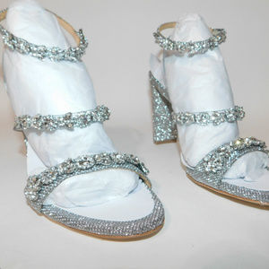 NWOB Badgley Mishka Bling Shoes 7 1/2